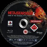 Metal Gear Solid 4: Guns of the Patriots PS3 disc (BLES00246)