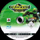 G1 Jockey 4 2008 PS3 disc (BLES00271)
