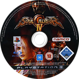 SoulCalibur IV PS3 disc (BLES00296)