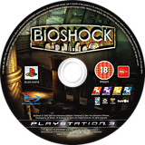 BioShock: Ultimate Rapture Edition PS3 disc (BLES00316)