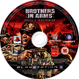 Brothers in Arms: Hell's Highway PS3 disc (BLES00318)