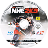 NHL 2K9 PS3 disc (BLES00353)