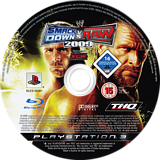WWE Smackdown vs Raw 2009 PS3 disc (BLES00361)
