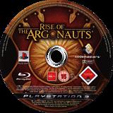 Rise of the Argonauts PS3 disc (BLES00418)