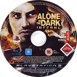 Alone in the Dark: Inferno PS3 disc (BLES00422)