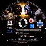 Mortal Kombat vs. DC Universe PS3 disc (BLES00441)
