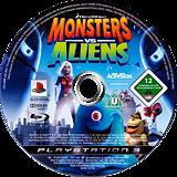 Dreamworks Monsters vs. Aliens PS3 disc (BLES00490)
