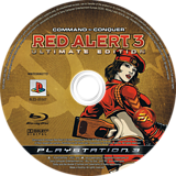 Command & Conquer: Red Alert 3 (Ultimate Edition) PS3 disc (BLES00507)