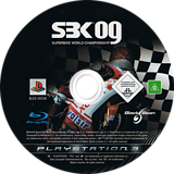 SBK-09 Superbike World Championship PS3 disc (BLES00536)