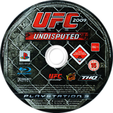 UFC 2009: Undisputed PS3 disc (BLES00539)