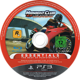 Midnight Club: Los Angeles - Complete Edition PS3 disc (BLES00652)