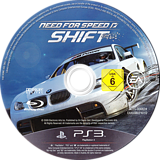Need for Speed Shift PS3 disc (BLES00682)