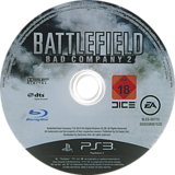 Battlefield: Bad Company 2 PS3 disc (BLES00773)