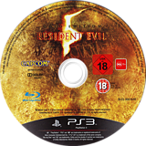Resident Evil 5: Gold Edition PS3 disc (BLES00816)