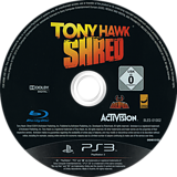 Tony Hawk: Shred PS3 disc (BLES01002)