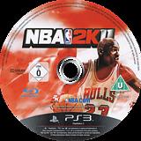 NBA 2K11 PS3 disc (BLES01008)