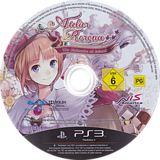Atelier Rorona: The Alchemist of Arland PS3 disc (BLES01030)