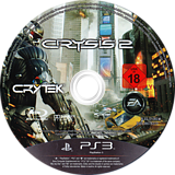 Crysis 2 PS3 disc (BLES01060)