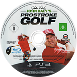 John Daly's ProStroke Golf PS3 disc (BLES01089)