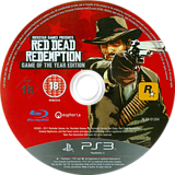 Red Dead Redemption: Game of the Year Edition PS3 disc (BLES01294)