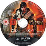 The Cursed Crusade PS3 disc (BLES01299)