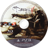 The Darkness II PS3 disc (BLES01388)