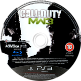 Call of Duty: Modern Warfare 3 PS3 disc (BLES01428)