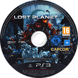 Lost Planet 3 PS3 disc (BLES01685)