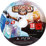 BioShock Infinite PS3 disc (BLES01705)