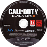 Call of Duty: Black Ops II PS3 disc (BLES01719)