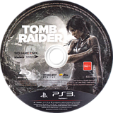 Tomb Raider PS3 disc (BLES01780)