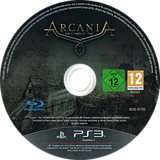 Arcania: The Complete Tale PS3 disc (BLES01783)