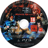 Fist of the North Star: Ken's Rage 2 PS3 disc (BLES01801)