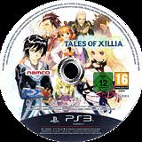 Tales of Xillia PS3 disc (BLES01815)