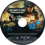 Heavy Fire: Shattered Spear PS3 disc (BLES01869)