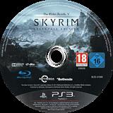The Elder Scrolls V: Skyrim Legendary Edition PS3 disc (BLES01886)