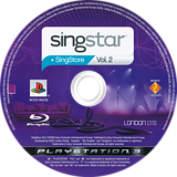 SingStar Vol. 2 PS3 disc (BCES00235)