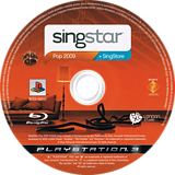 SingStar Pop 2009 PS3 disc (BCES00342)