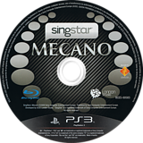 SingStar Mecano PS3 disc (BCES00583)
