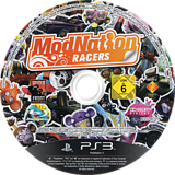 ModNation Racers PS3 disc (BCES00701)