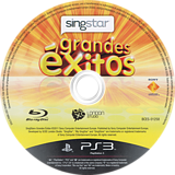 SingStar Grandes Éxitos PS3 disc (BCES01258)