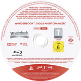 Wonderbook Diggs: Detective Privado PS3 disc (BCES01725)
