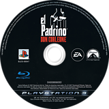 El Padrino : Don Corleone PS3 disc (BLES00047)
