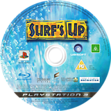 Surf's Up PS3 disc (BLES00082)