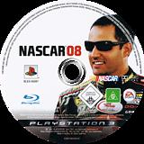 NASCAR 08 PS3 disc (BLES00097)