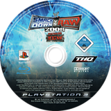 WWE SmackDown vs. Raw 2008 PS3 disc (BLES00137)