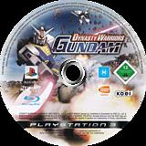 Dynasty Warriors: Gundam PS3 disc (BLES00147)