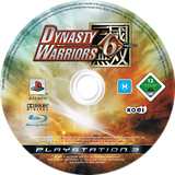 Dynasty Warriors 6 PS3 disc (BLES00215)