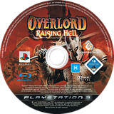 Overlord: Raising Hell PS3 disc (BLES00257)