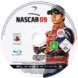 Nascar 09 PS3 disc (BLES00268)
